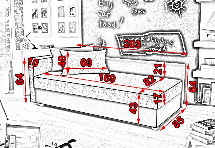 Кровать диван для детей с доставкой